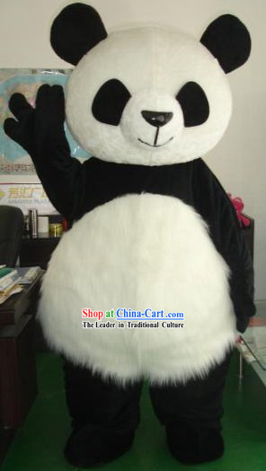 Chinese Panada Mascot Costumes Complete Set