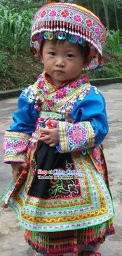 Chinese Miao Suit for Children