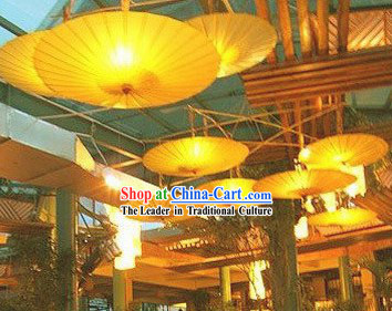 Chinese Style Ceiling Decoration Umbrella