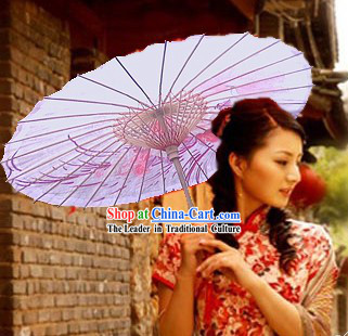 Chinese Romantic Hand Made Rose Unbrella