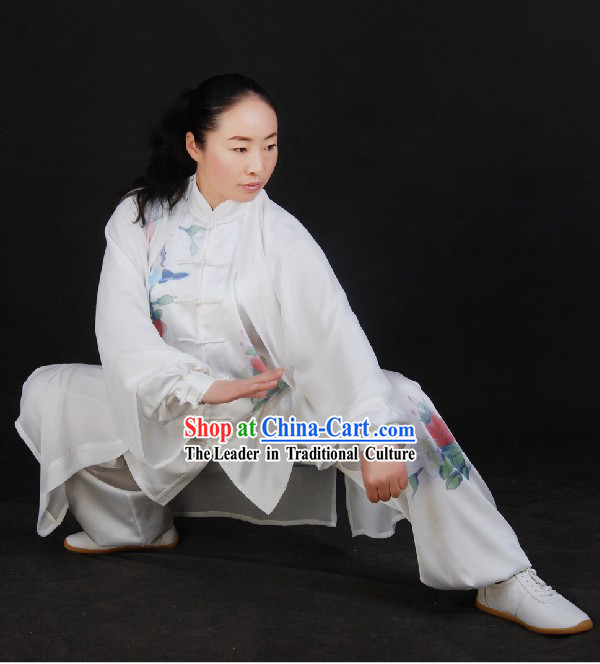 Chinese Silk Tai Chi Sword Suit