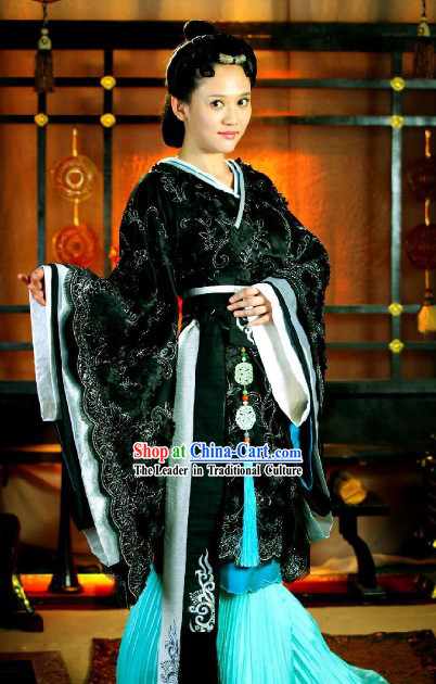 Chinese Hanfu Waist Jade Wearing for Women