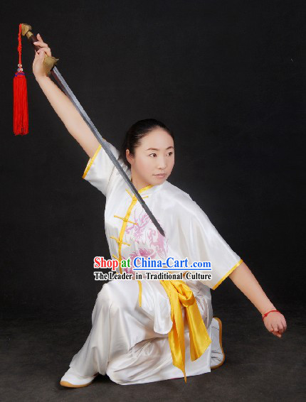 Chinese Silk Dragon Kung Fu Uniform