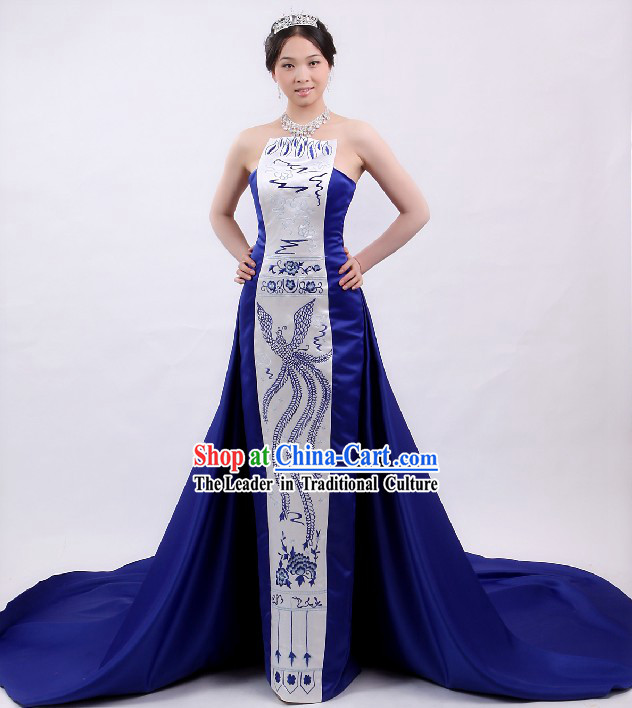 Chinese Folk Singer Costume Complete Set