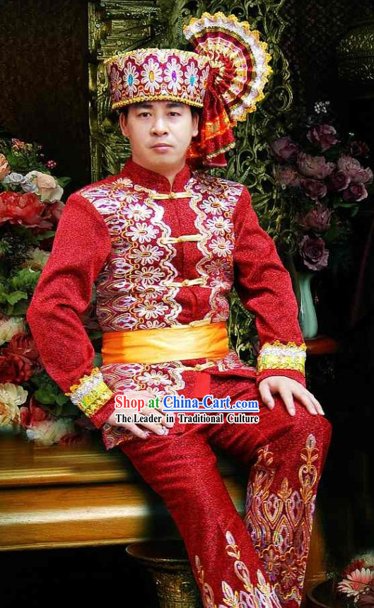 Traditional Thailand Dress Set for Men