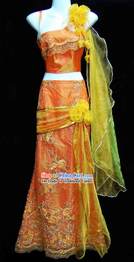 Traditional Thailand Skirt Set for Women