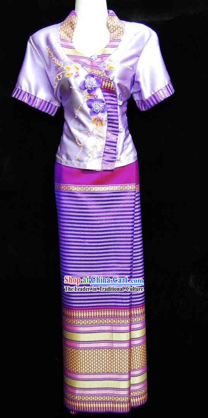 Traditional Thailand Restaurant Uniforms