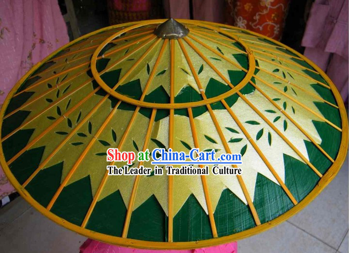 Traditional Hand Made Thailand Bamboo Hat