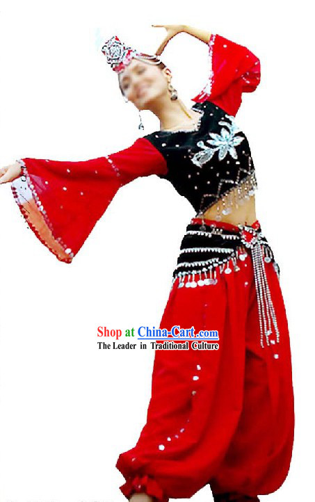 Chinese Ughur Dance Dresses for Women