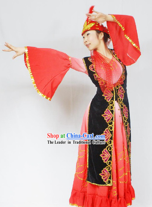 Chinese Ughur Dance Clothes for Women