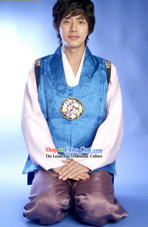 Ancient Korean Hanbok Dress Set for Men