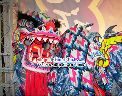 Grand Opening and Festival Celebrations Luminous Dragon Dance Costumes Complete Set