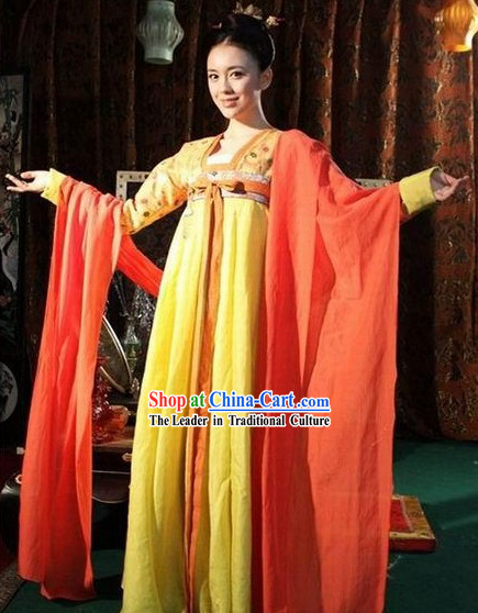 Tang Dynasty Prince Clothing Complete Set