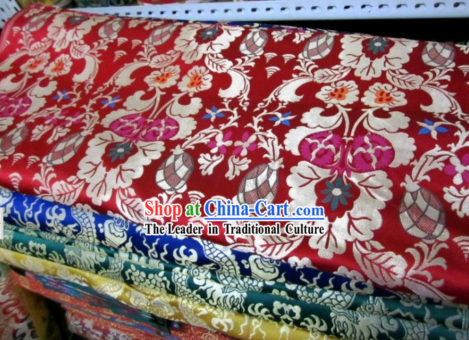Chinese Traditional Brocade Fabric