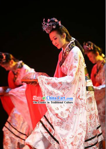 Ancient Chinese Dance Costumes Set