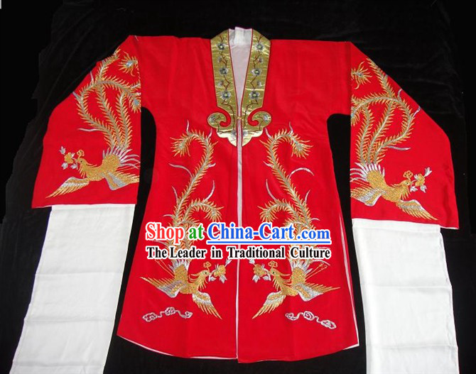 Chinese Opera Phoenix Wedding Dress Set
