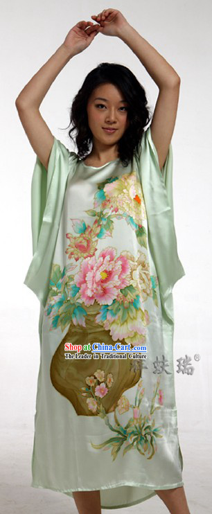 Rui Fu Xiang Chinese Silk Pajamas for Women