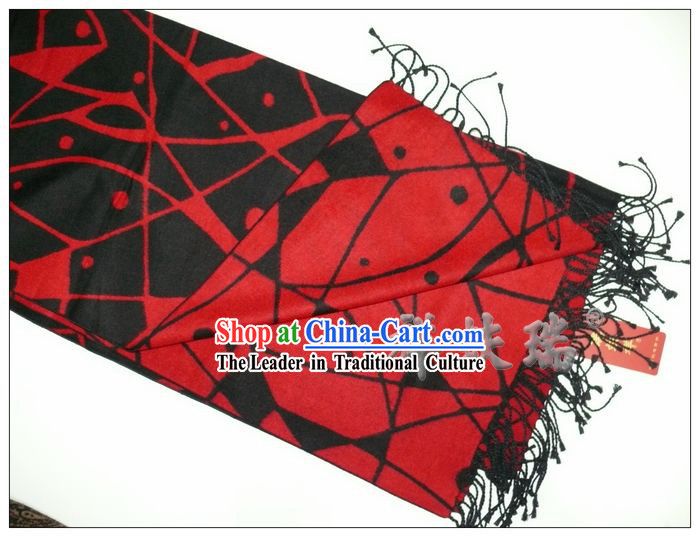 Rui Fu Xiang Long Silk Scarf for Both Men and Women