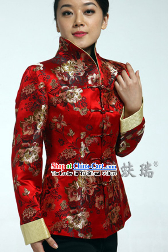 Famous Time-honored Rui Fu Xiang Phoenix Wedding Dress for Women