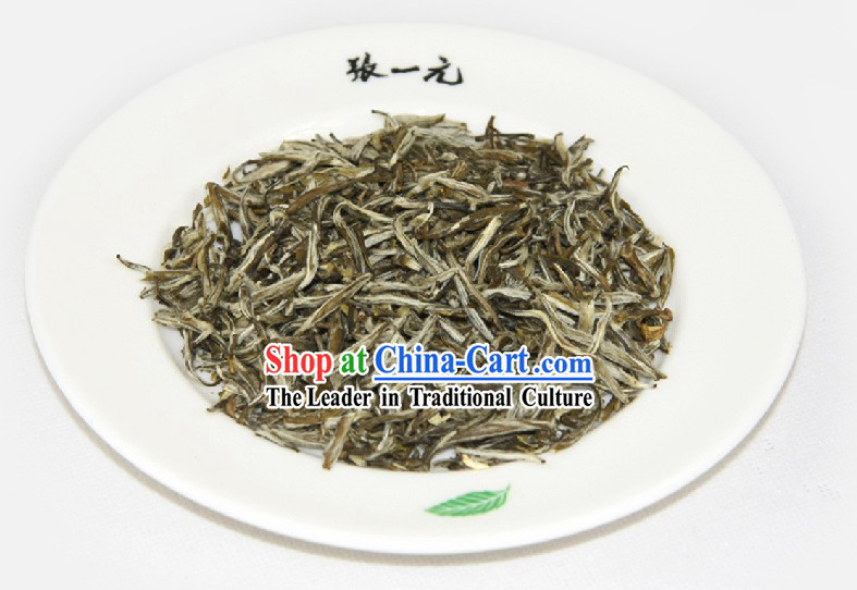 Chinese Zhang Yiyuan Da Long Ya Jasmine Tea Leaf