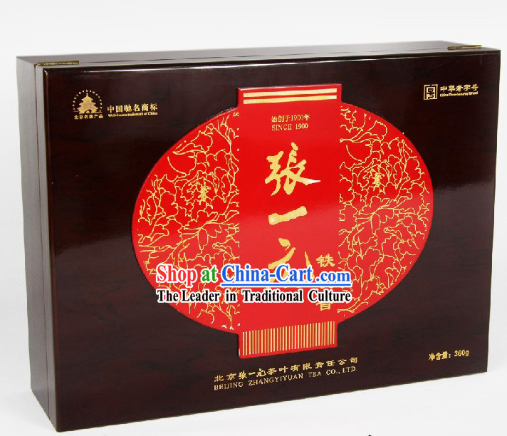 Chinese Zhang Yiyuan Supreme Anxi Tie Guanyin Tea in Gift Package