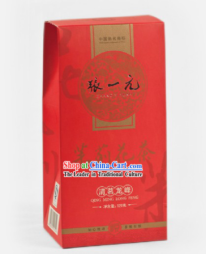 Chinese Zhang Yiyuan Qing Ming Long Feng Jasmine Tea in Gift Package