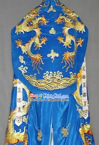 Ancient Chinese Prince Dragon Cape Full Set