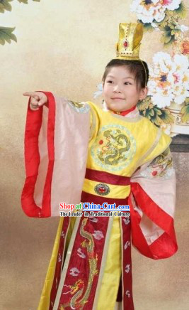 Ancient Chinese Prince Costumes for Children