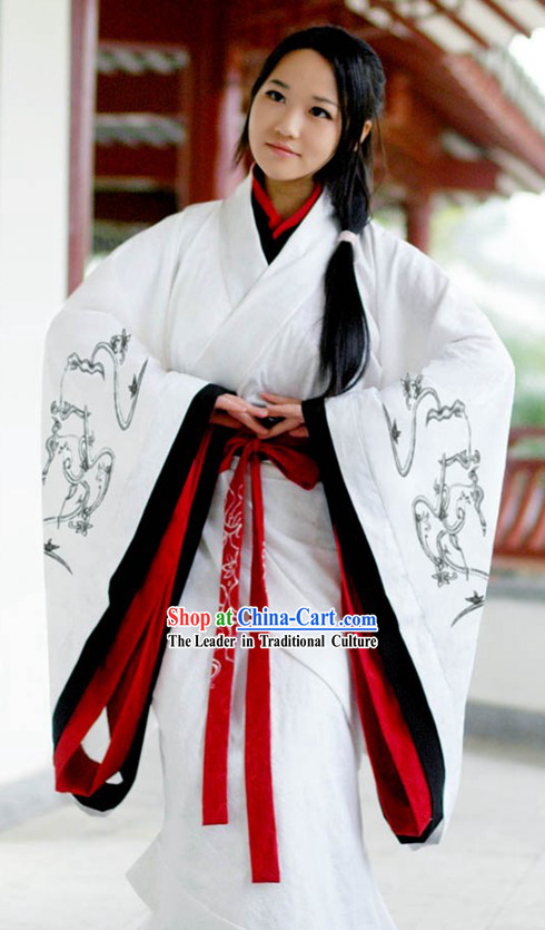 Traditional Chinese Female Hanfu Full Set