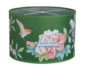 Traditional Chinese Hand Painted Silk Ceiling Lantern