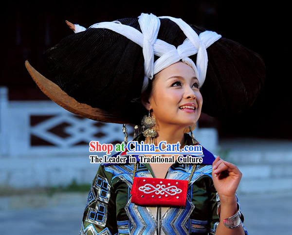 Chinese Miao Minority Clothing Complete Set
