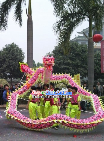 Luminous Fluorescent Dragon Dancing Costumes Complete Set