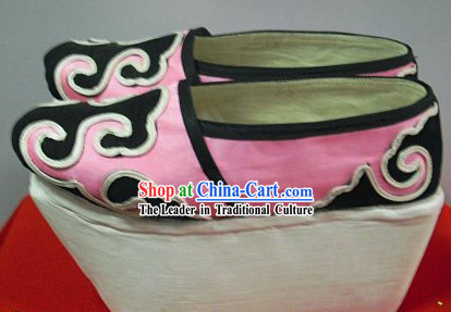 Traditional Chinese Beijing Opera Thick Sole Shoes