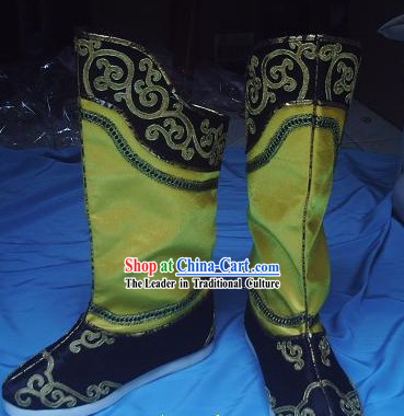 Traditional Chinese Han Clothing Shoes for Men