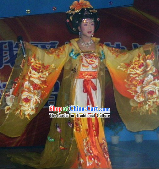 Chinese Opera Tang Dynasty Empress Costumes
