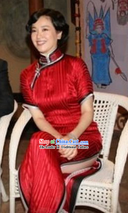 Supreme Chinese Lucky Red Wedding Dress