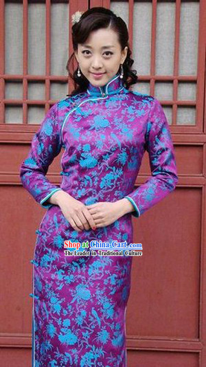 Chinese Classical Female Cheongsam