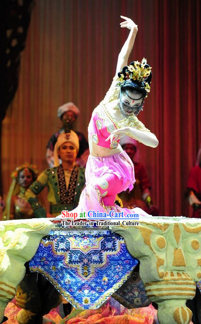 Dunhuang Fei Tian Fairies in the Sky Dance Costumes