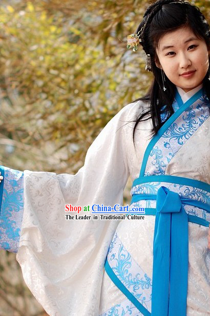 Han Chinese Clothing Qu Ju Garment Set for Women