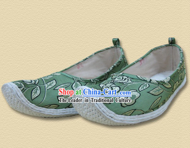 Ancient Chinese Handmade Bow Shape Shoes