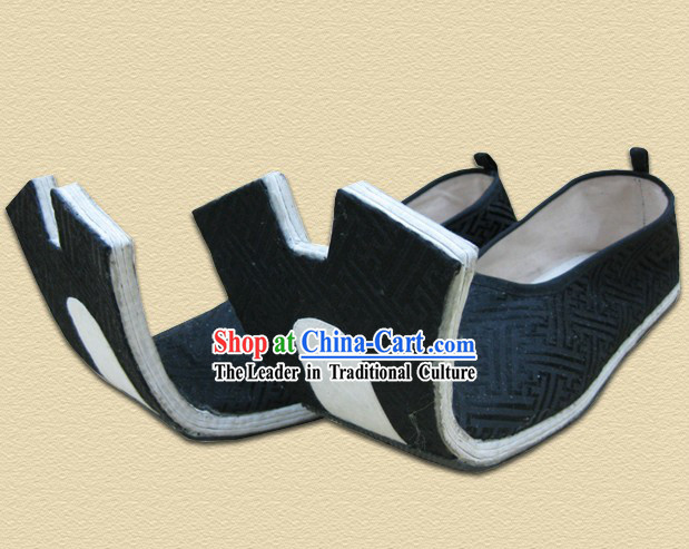 Traditional Han Chinese Clothing Royal Male Shoes