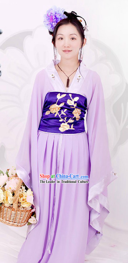 Chinese Classical Purple Hanfu for Women