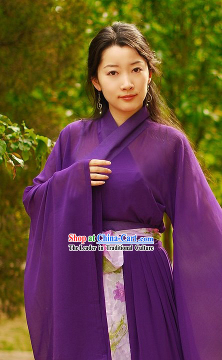 Han Chinese Clothing Complete Set for Women