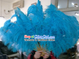 Big Ostrich Feather Fans
