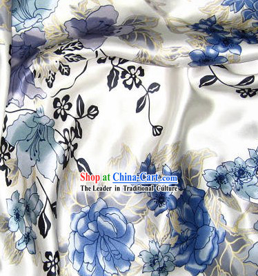 Hangzhou Flower 100% Chinese Silk