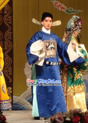 Peking Opera Offiical Costume and Hat