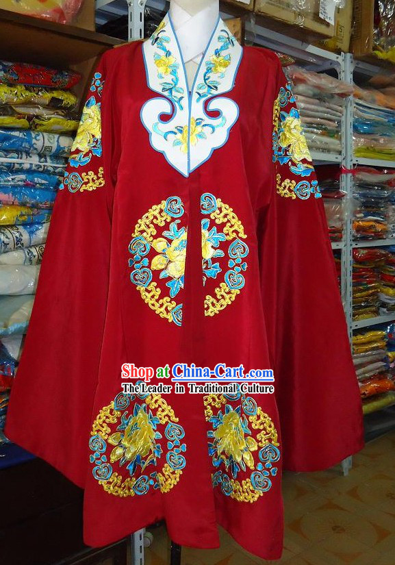Chinese Opera Embroidered Flower Nv Pi Costumes