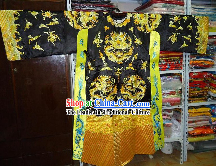 Chinese Opera Tuan Long Mang Embroidered Dragon Costumes