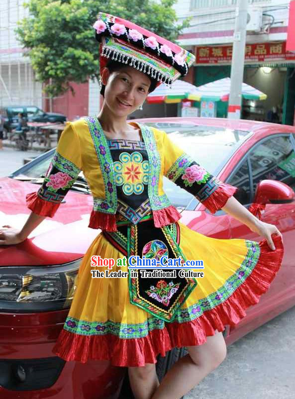 Chinese Minority Dance Costume