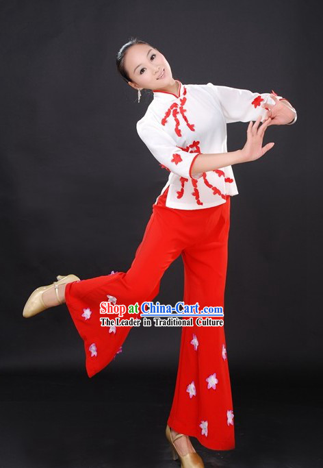 Chinese Festival Celebration Parade Costumes for Women